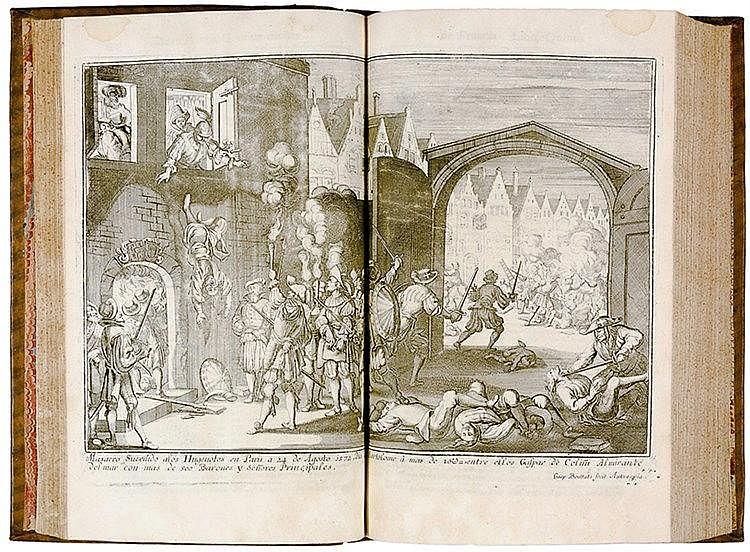 Hugenottenkriege - - Davila, Enrico Caterino. Historia de las Guerras civil