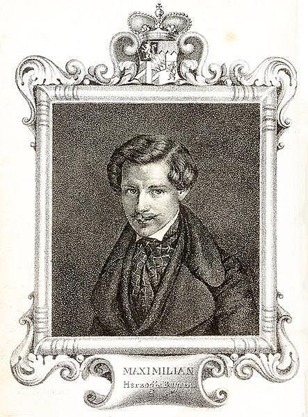 Orient - Levante - - Maximilian, Herzog in Bayern. Wanderung nach dem Orien