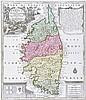 Karten - Korsika - - Seutter, Matthäus. Insula Corsica, olim regni titulo i, Matthäus (1678) Seutter, €200