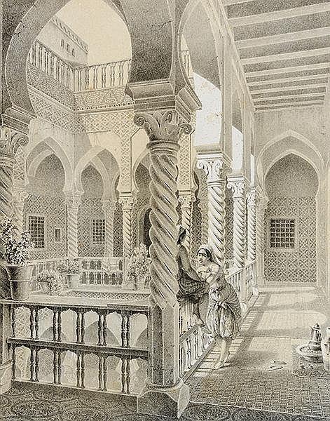 Afrika - Algerien - - Otth, Adolphe. Esquisses Africaines dessinées pendant