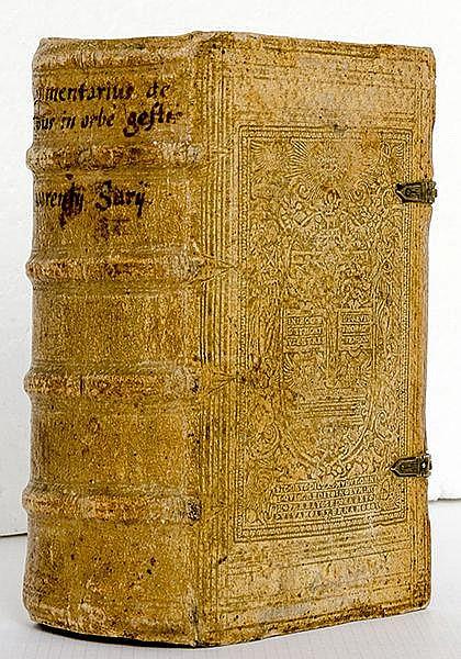 Surius, Laurentius. Commentarius brevis rerum in orbe gestarum, ab anno sal