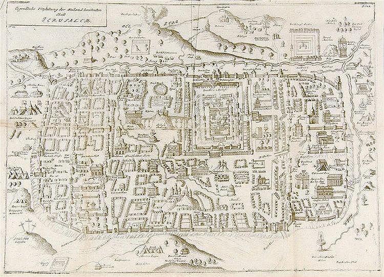 Orient - Palästina - - Hartnack, Daniel. Biblische Geographia, darinn das g