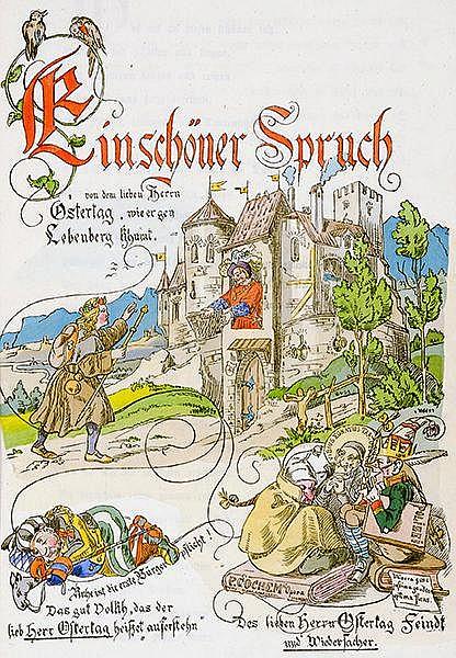 Europa - Italien - - Lentner, Josef Friedrich. Chronica von dem Geschloße u