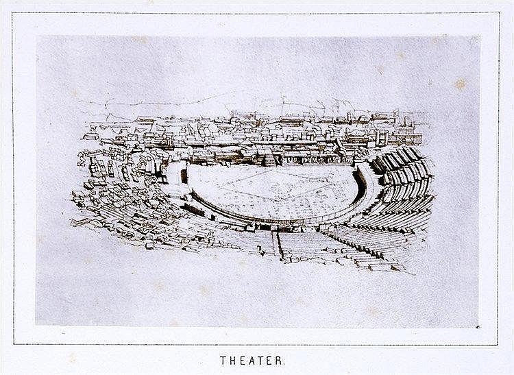 Europa - Griechenland - - Curtius, E. und J. A. Kaupert. Atlas von Athen. I