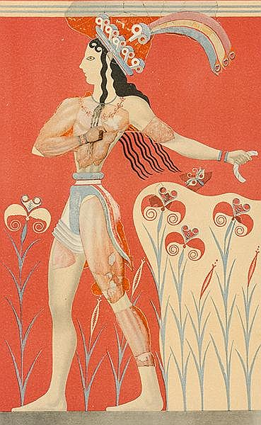 Europa - Griechenland - - Evans, Arthur. The palace of Minos in Knossos. A
