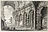 Ansichten - Italien - - Piranesi, Giovanni Battista. Veduta del piano super, Giovanni Battista Piranesi, €400