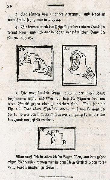 Zaubern - - Decremps, Henri. Lesebuch zur gesellschaftlichen Unterhaltung m