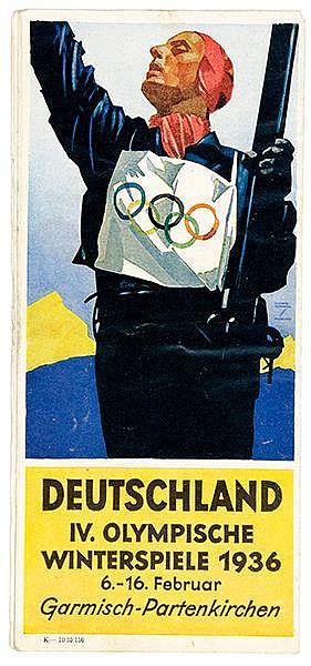 Sport - Olympiaden - - Olympische Spiele Berlin und Garmisch, 1936. Sammlun