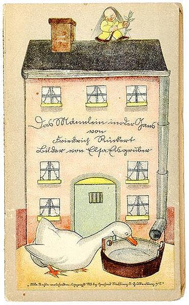 Eisgruber, Elsa - - Rückert, Friedrich. Das Männlein in der Gans. Mit 12 fa