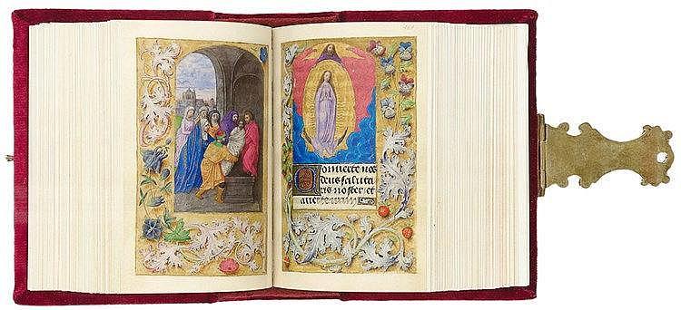 Faksimile - - Das Berliner Stundenbuch der Maria von Burgund und Kaiser Max