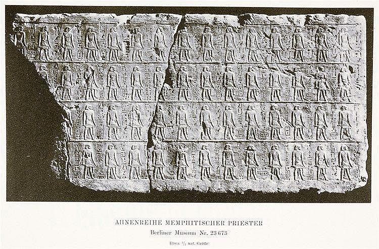 Ägypten - - Borchardt, Ludwig. Quellen und Forschungen zur Zeitbestimmung d