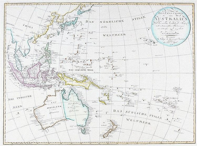 Australien und Ozeanien - - Reinecke, Johann Christoph Matthias. General-Ch
