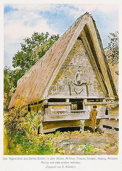 Australien und Ozeanien - Palau - - Krämer, Augustin. Palau. 1. Teilband, A