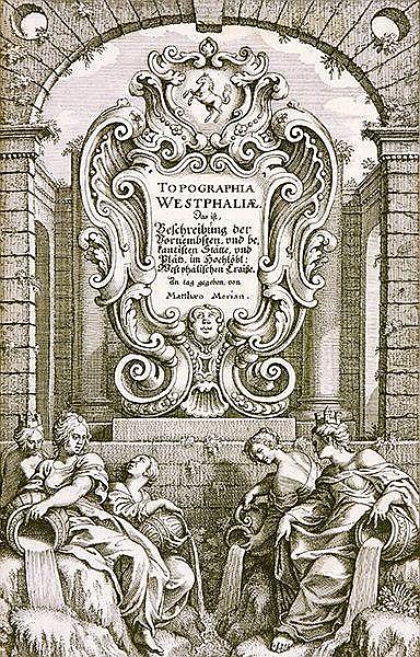 Deutschland - - Merian, Matthäus. Topographia Westphaliae. Das ist Beschrei
