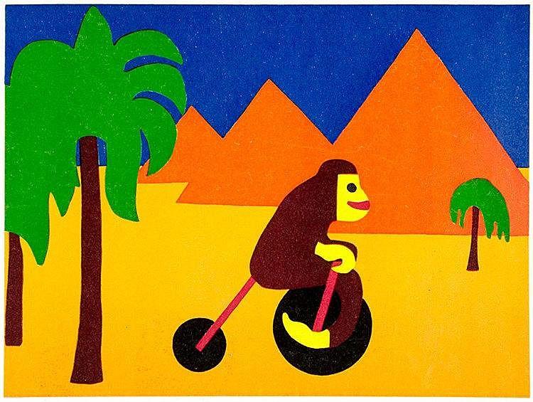 Hildebrandt, Lily. Klein-Rainers Weltreise. Mit farbigen lithographischen V