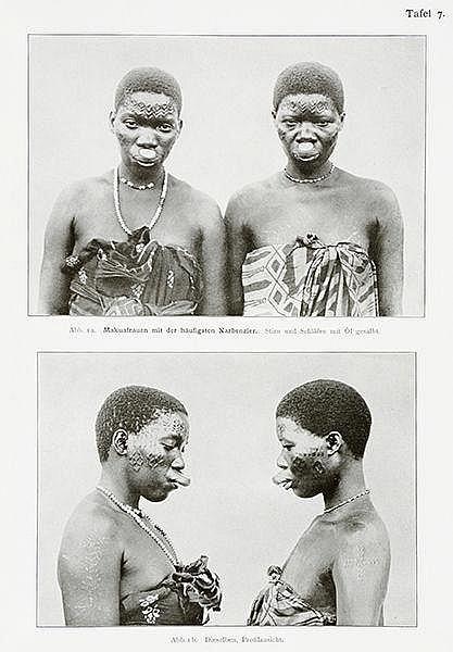 Afrika - Deutsch-Ostafrika - - Weule, Karl. Wissenschaftliche Ergebnisse me