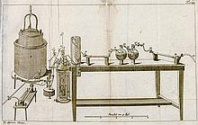 Chemie - - Lavoisier, Antoine-Laurent. System der antiphlogistischen Chemie