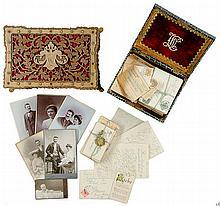 Eine Liebe in Mähren. Sammlung von ca. 80 Liebesbriefen und -karten samt f