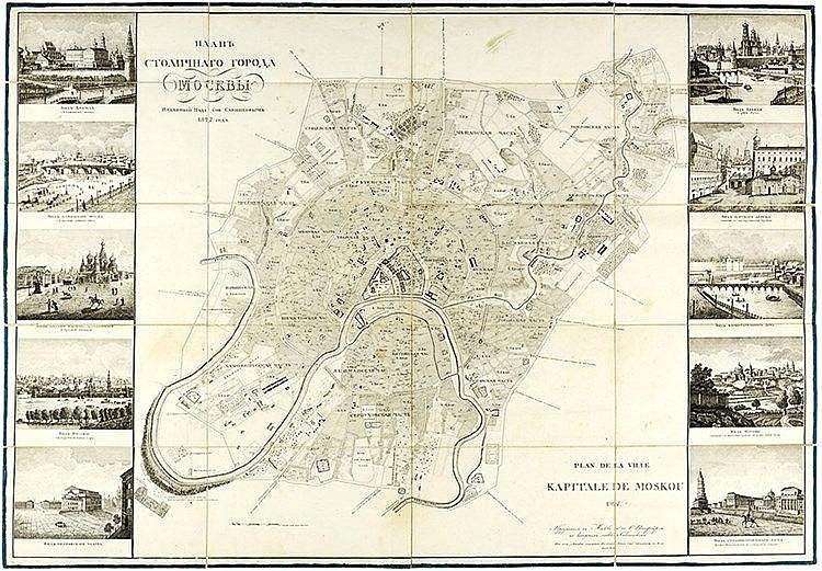Europa - Russland - - Sawinkow, Alexandr D. Nowejschi plan Moskwy. 1827 god