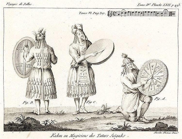 Europa - Russland - - Pallas, Peter Simon. Voyages du Professeur Pallas, da
