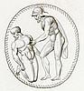 Gemmen - - Pierres gravées (Rückentitel). Mit 103 teilweise montierten Kupf