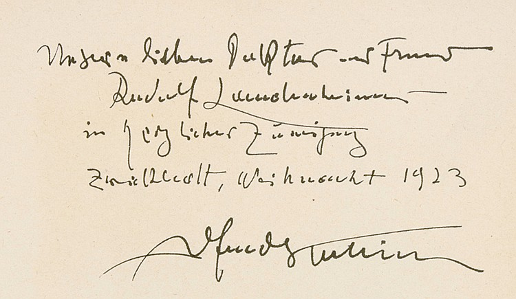 Kubin, Alfred - - Barbey d'Aurevilly, Jules Amédée. Teufelskinder. Ins Deut