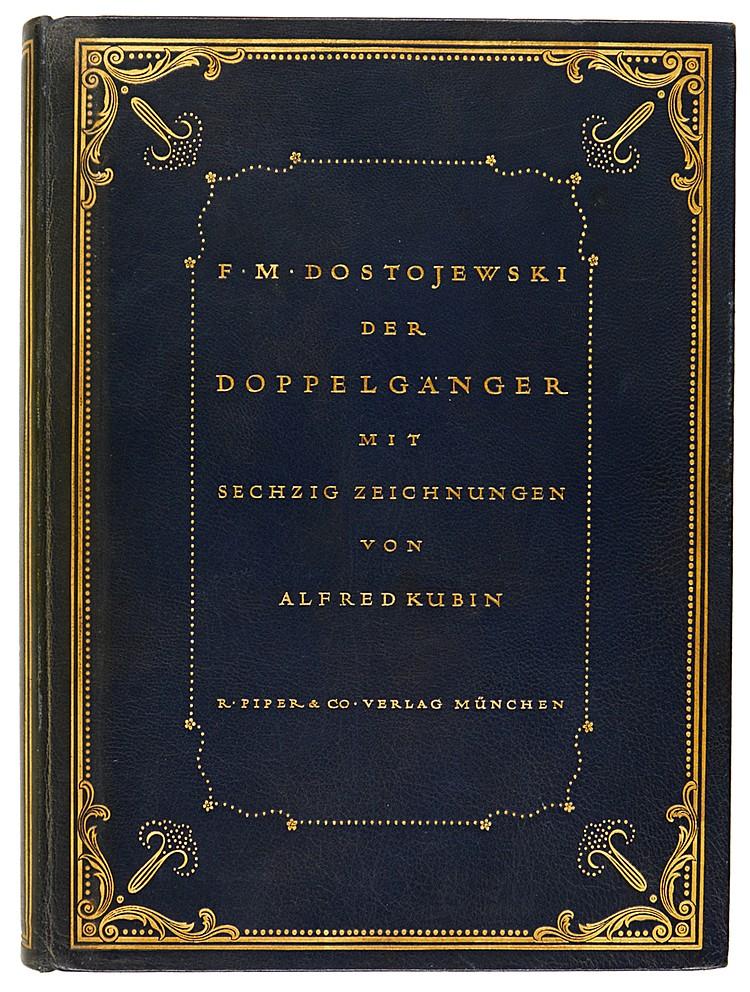 Kubin, Alfred - - Dostojewski, Fedor Michajlovitsch. Der Doppelgänger. Mit