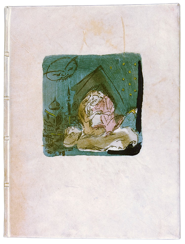 Gautier, Théophile. Die 1002. Nacht. Mit 11 handkolorierten Zeichnungen von