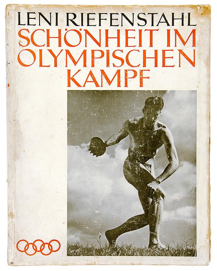 Photobücher - - Riefenstahl, Leni. Schönheit im Olympischen Kampf. Mit zahl