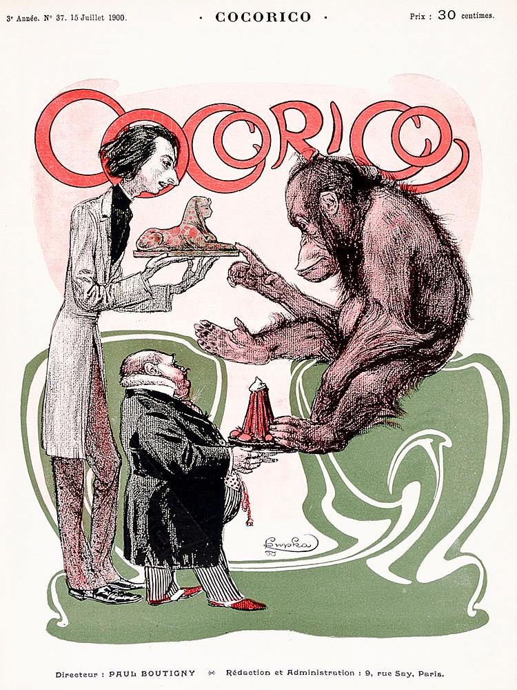 Zeitschriften - - Cocorico. Herausgegeben von Paul Boutigny. Heft 1-63 in 3