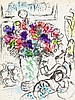 Chagall, Marc - - Cain, Julien. Chagall Lithograph III-IV. 2 Bände. Mit 4 f