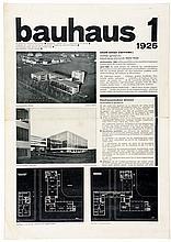Bauhaus - - Bauhaus. Jahrgang I, Heft 1. Schriftleitung: Walter Gropius und
