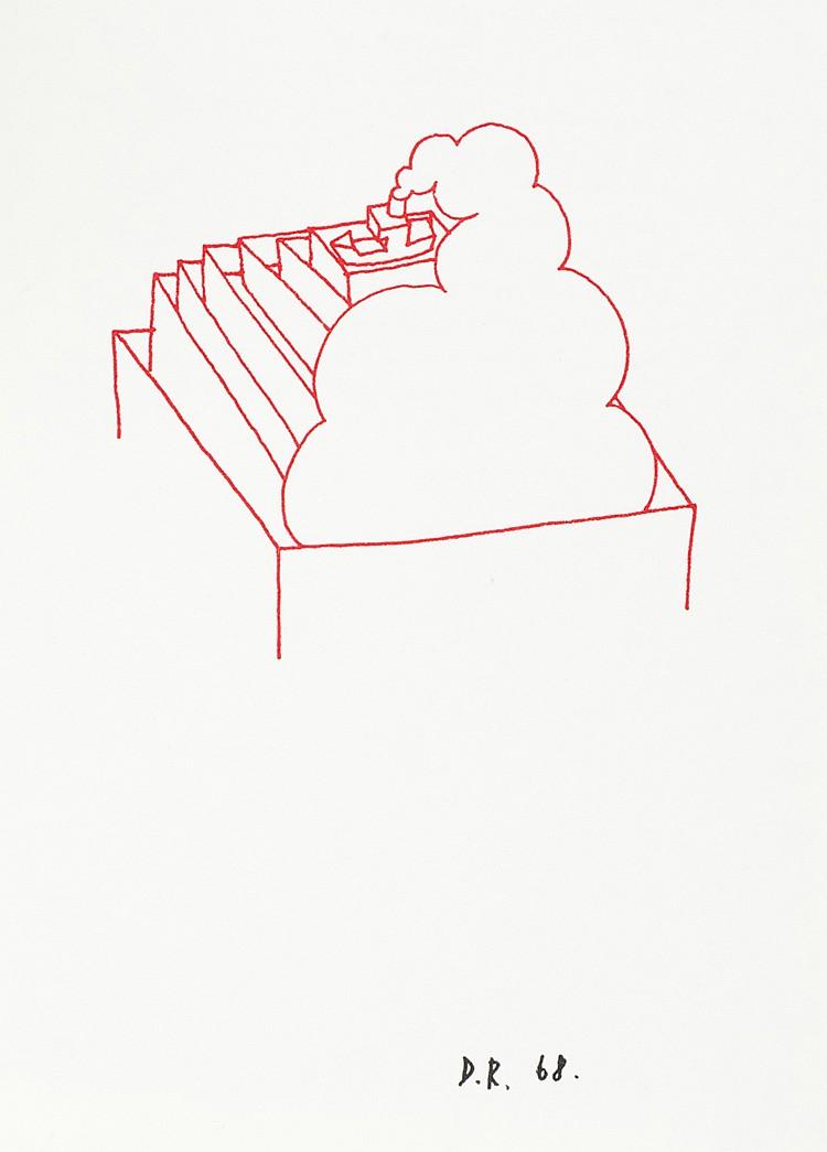 Roth, Dieter. Die gesamte Scheisse. Gedichte und Zeichnungen. Mit 32 Zeichn
