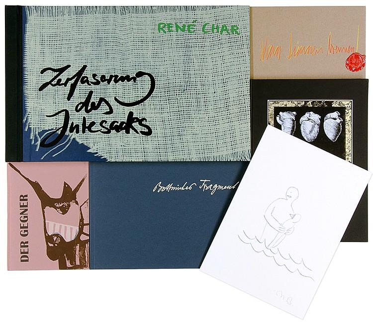 Edition Maldoror - - Sammlung von 10 Künstlerbüchern. Berlin, 1999-2015. Fo