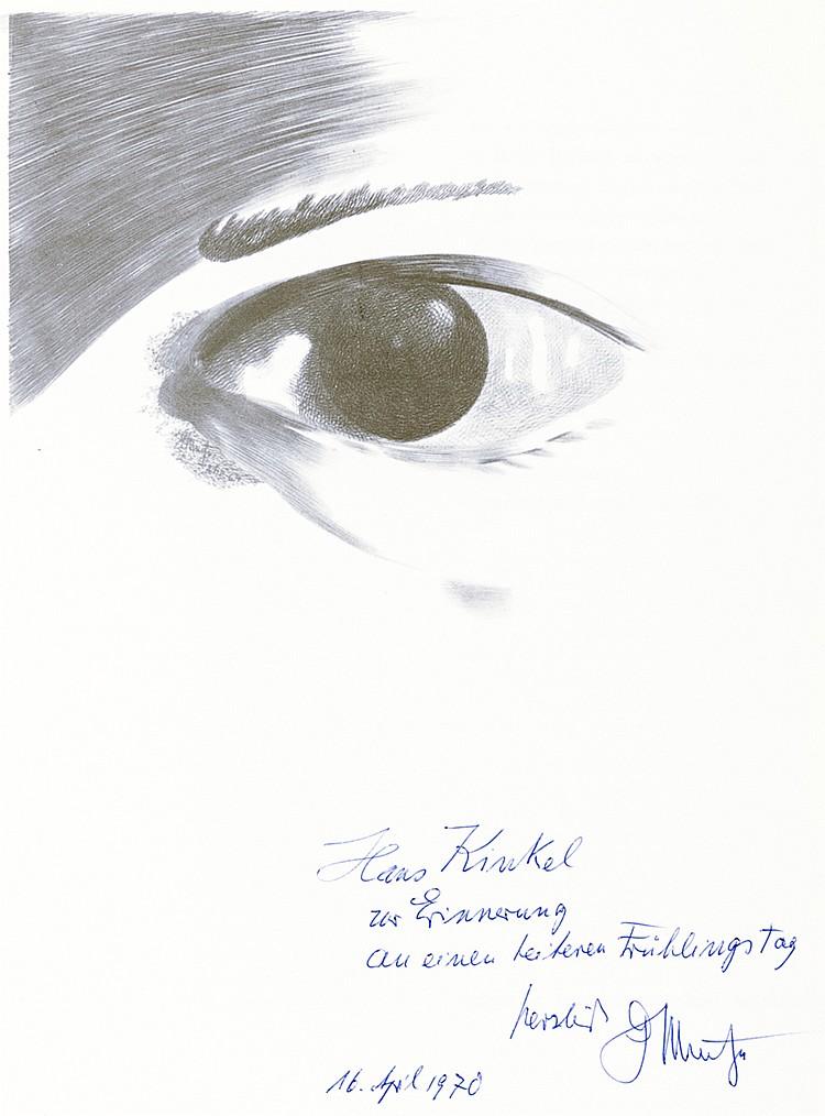 Muche, Georg - - Sammlung von 13 Ausstellungskatalogen bzw. Werken über Geo