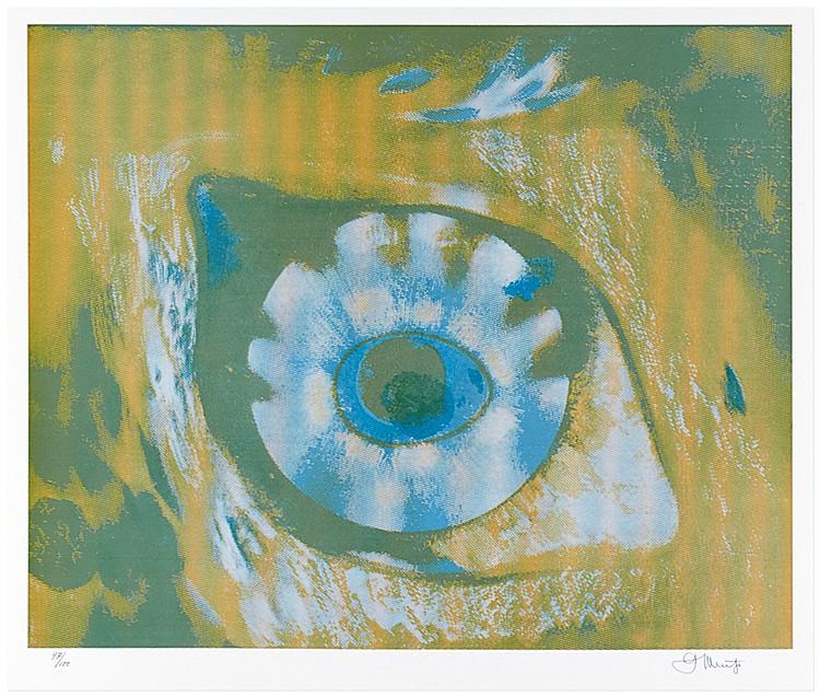 Muche, Georg. Nemisee. Auge der Diana. Variographien. Mit 28 (16 signierten