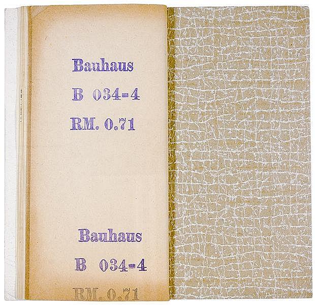 Bauhaus - - Der rechte Weg zur richtigen Tapete. Musterheft mit 13 Original