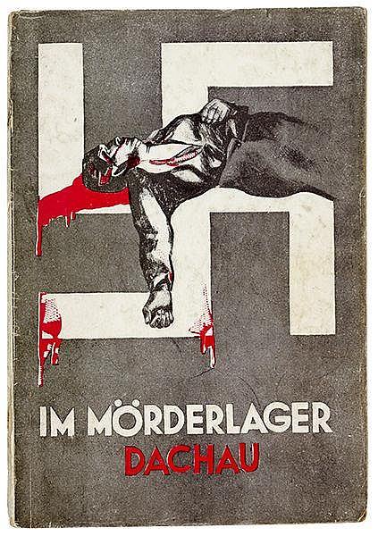 Heartfield, John - - Beimler, Hans. Im Mörderlager Dachau. Vier Wochen in d
