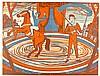 Heckel, Erich. Graphik der Gegenwart, Band 1: Erich Heckel. Mit 4 (3 farbig