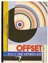Bauhaus - - Offset- Buch- und Werbekunst. Bauhaus-Heft. Jahrgang 1926. Heft