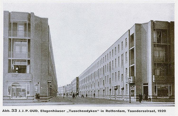 Bauhaus - - Oud, J.J.P. Holländische Architektur. Mit zahlreichen, meist ga