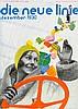 Bauhaus - - die neue linie. Monatsschrift. Jahrgang 2, Hefte 1-12 (Septembe