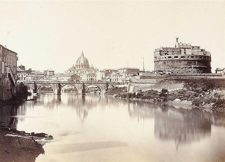 Italien - Rom - - Vedute di Roma. Prachtalbum mit 28 großformatigen Origina
