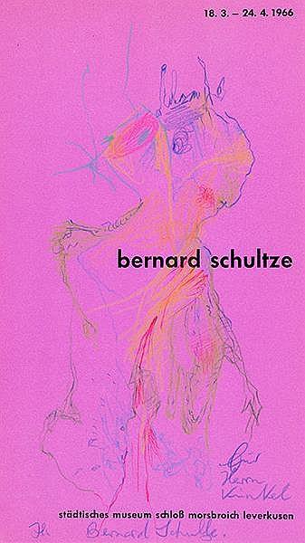 Schultze, Bernard. Sammlung von 22 (2 farbigen) Original-Zeichnungen (Kugel