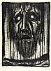 Expressionismus - - Gruber, Ludwig. Visionen. Vom Kreuz unserer Zeit. Mit l, Ludwig Gruber, €240