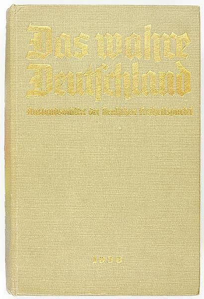 Exilliteratur - - Das wahre Deutschland. Auslandsblätter der Deutschen Frei
