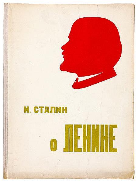 Russische Avantgarde - - Stalin, Iosif W. O Lenine. (Über Lenin). Mit monti