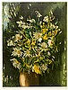 Vlaminck, Maurice de. Ohne Titel (Bouquet). Farblithographie auf Velin. Rec, Maurice de Vlaminck, €160