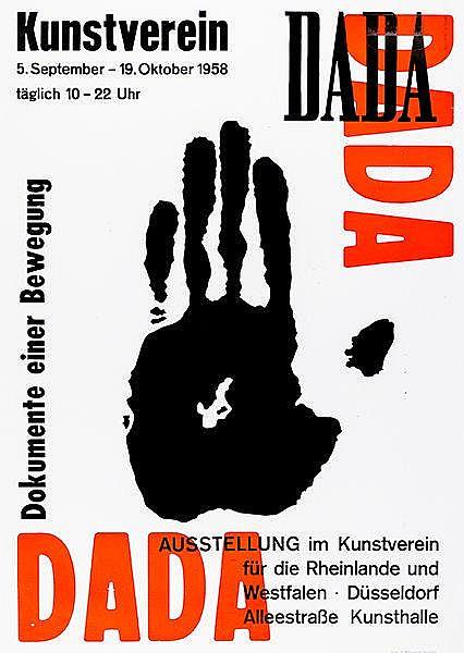 Plakate - - Theissen, Hubert. DADA. Dokumente einer Bewegung. Ausstellung i