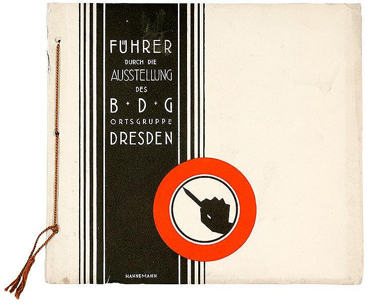 Werbung - - Drei Schriften des Bundes Deutscher Gebrauchsgraphiker. Mit zah